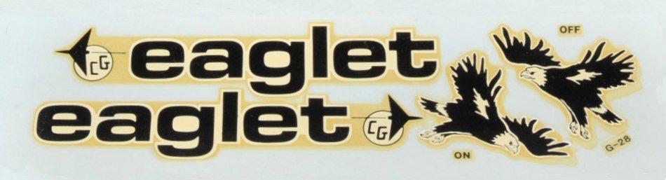 Eaglet decals
